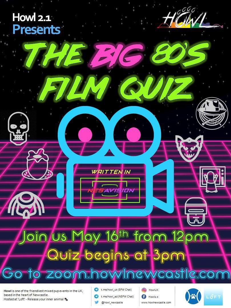 80s Quiz Poster
